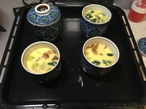 茶碗蒸し ヘルシオ