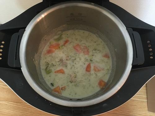 ホットクックで調理する前のシチュー(5)