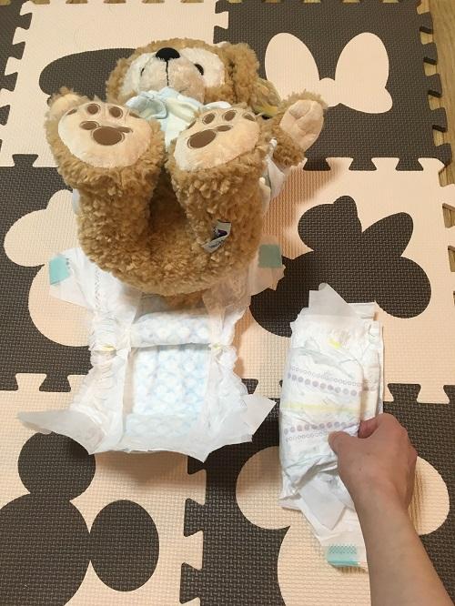 人形を使ったオムツ替え方法(その6)