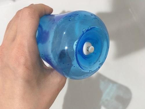 鼻うがいボトルのボタン