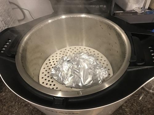 ホットクックで調理するした後のエリンギバター
